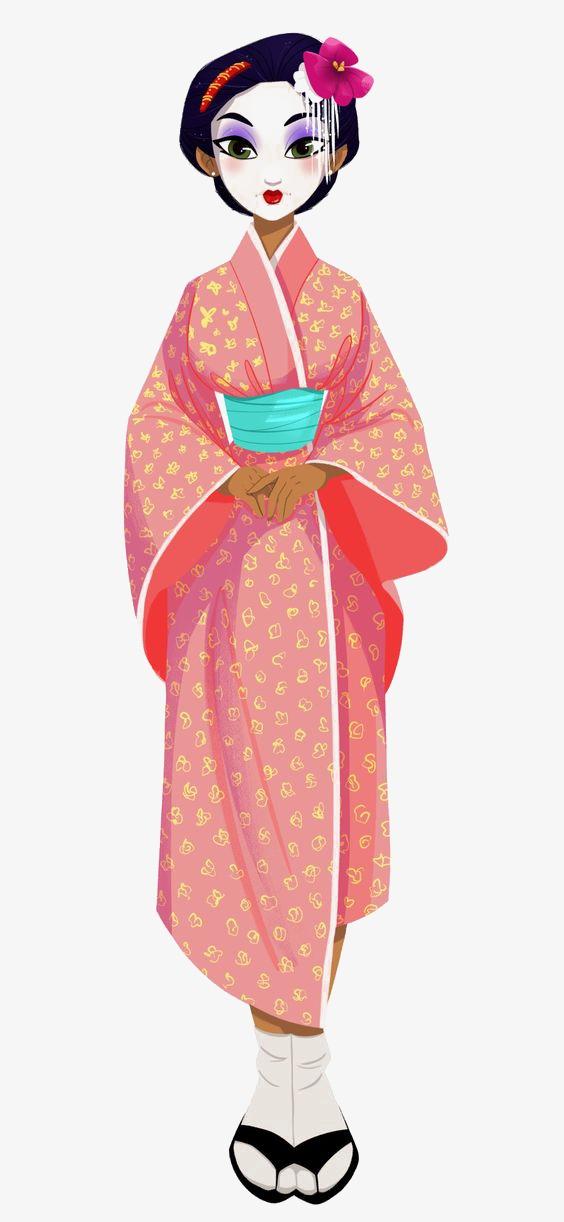 Kimono clipart picture library Kimono clipart 3 » Clipart Station picture library