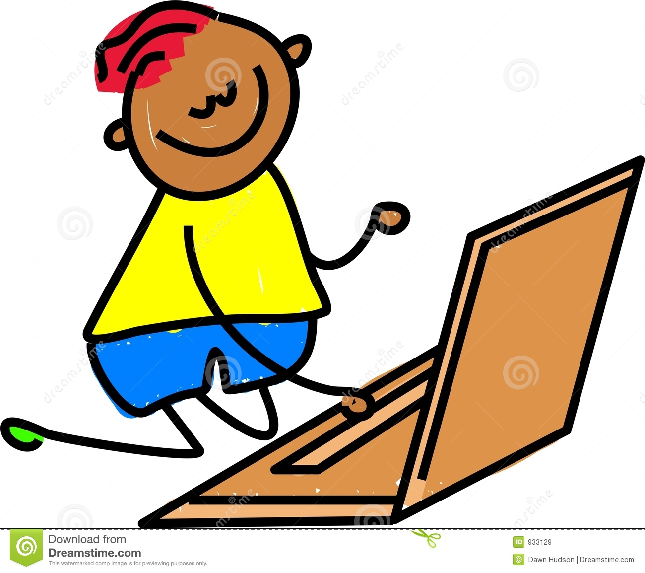 Kind am computer clipart clip royalty free stock Kid computer clipart - ClipartFest clip royalty free stock