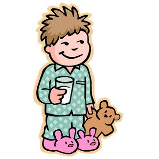 Kind anziehen clipart picture free Bed Time Pajama Clipart - Clipart Kid picture free