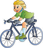 Kind auf fahrrad clipart picture freeuse stock Riding Clip Art - Royalty Free - GoGraph picture freeuse stock