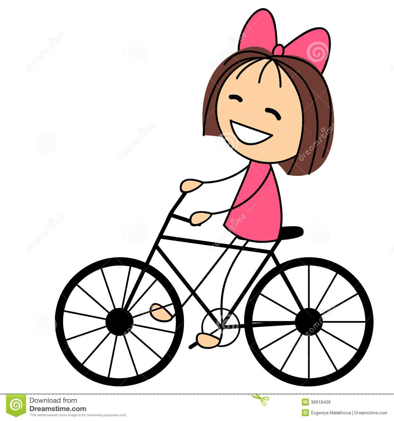 Kind auf fahrrad clipart jpg library library Frau auf fahrrad clipart - ClipartFest jpg library library