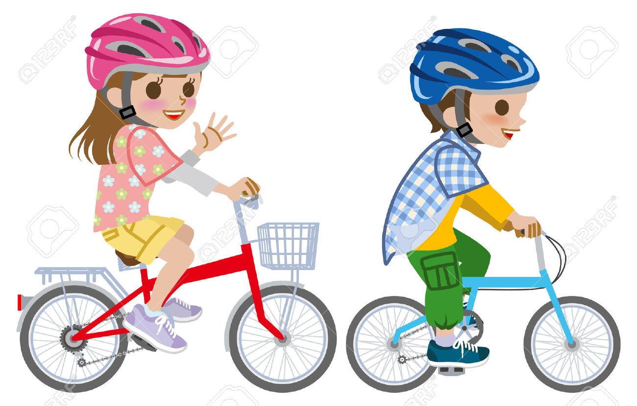 Kind auf fahrrad clipart vector black and white library Kind auf fahrrad clipart - ClipartFest vector black and white library