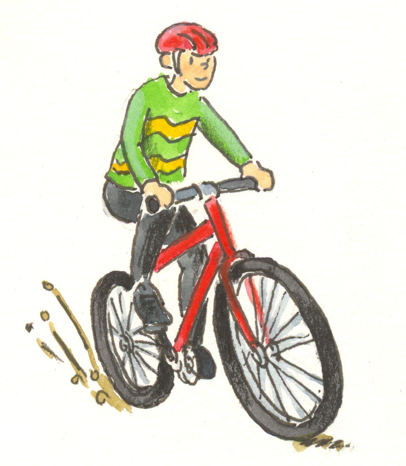 Kind auf fahrrad clipart png freeuse Fahrradfahren clipart - ClipartFest png freeuse