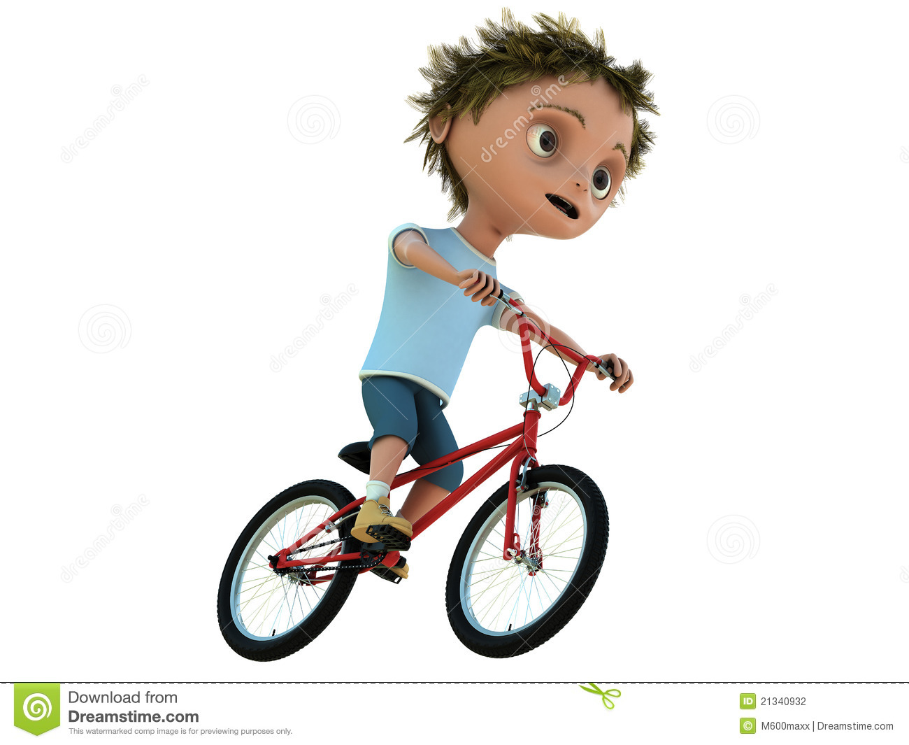 Kind auf fahrrad clipart picture library download Kind Auf Fahrrad Stockfotografie - Bild: 21340932 picture library download
