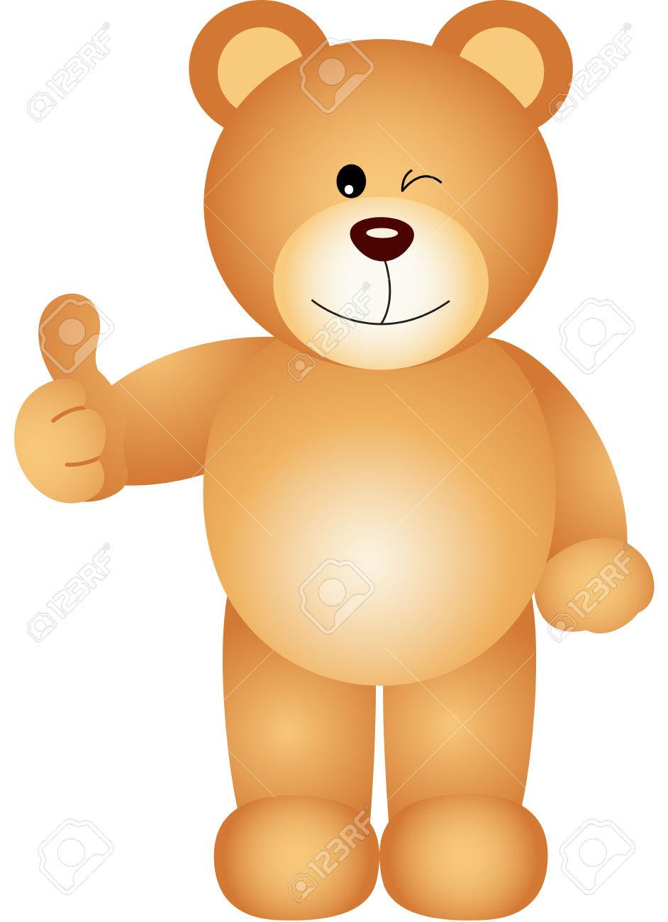 Kind daumen hoch clipart jpg black and white Teddybär, Den Daumen Hoch Zeichen Lizenzfrei Nutzbare ... jpg black and white