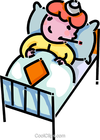 Kind im bett clipart vector library download Krankes kind clipart - ClipartFox vector library download