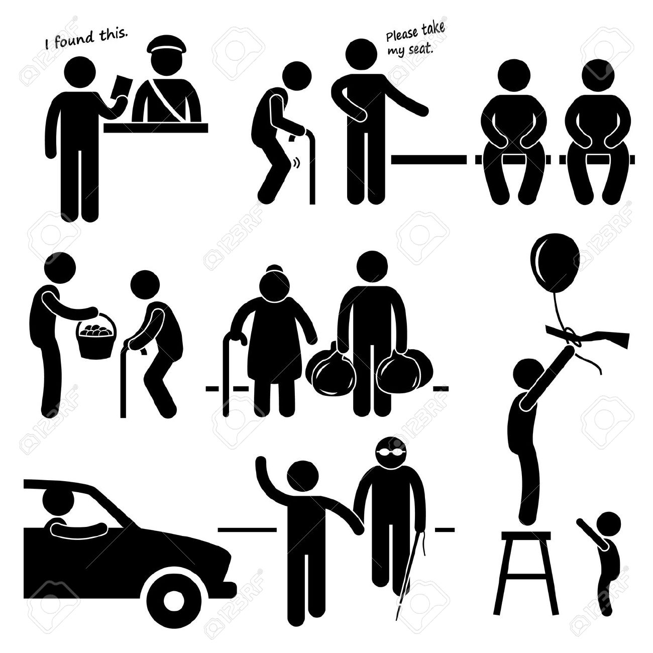 Kind people clipart clipart black and white download 25,889 Kind Stock Illustrations, Cliparts And Royalty Free Kind ... clipart black and white download