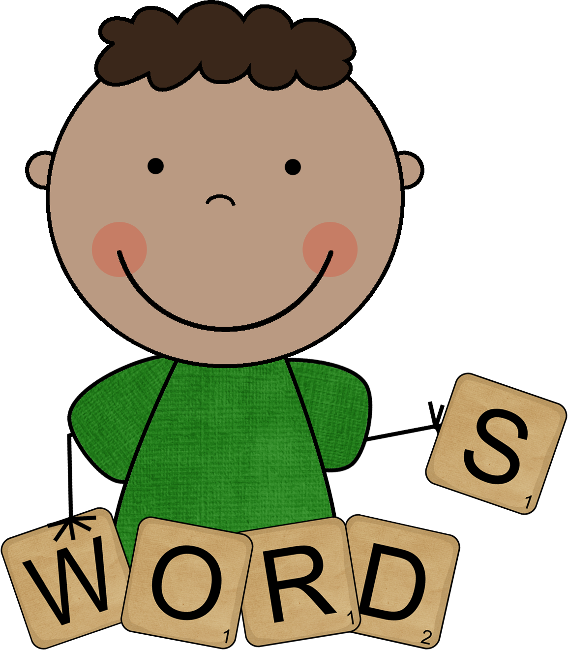 Kind words clipart picture transparent stock Word Graphics Clipart - Clipart Kid picture transparent stock