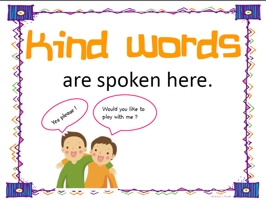 Kind words clipart graphic transparent library Nice words clipart - ClipartFest graphic transparent library