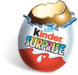 Kinder chocolate clipart vector stock Kinder Surprise Bulk Eggs x 48 vector stock