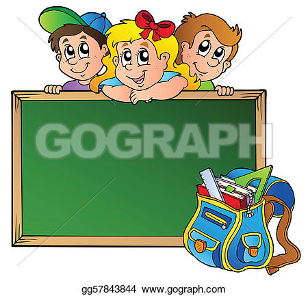 Kinder in der schule clipart banner library download School Bag Clip Art - Royalty Free - GoGraph banner library download