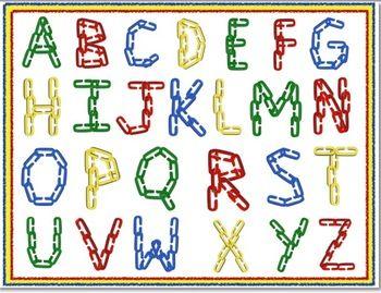 Kindergarten alphabet clipart clipart library stock Kindergarten alphabet clipart - ClipartFest clipart library stock