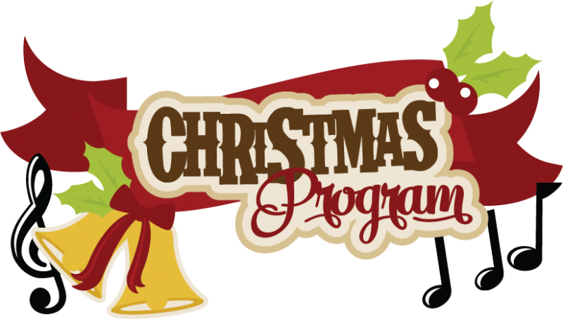 Children's christmas program clipart banner black and white Christmas Program Clipart - Clipart Kid banner black and white
