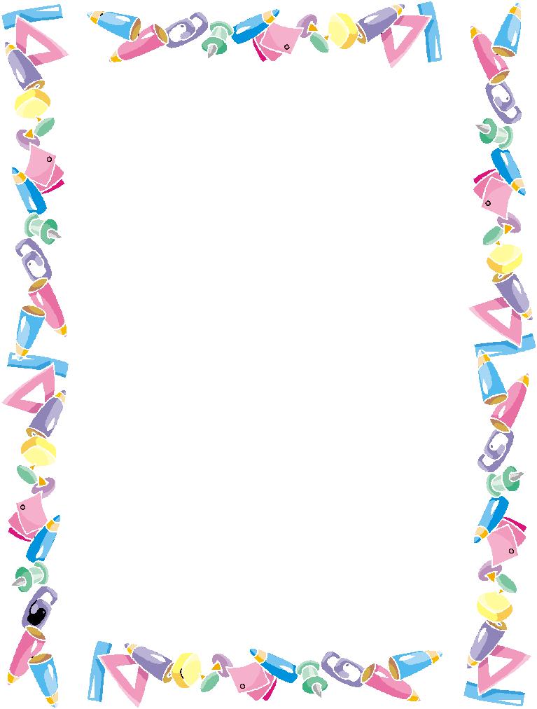 Kindergarten clipart borders png library stock Preschool Borders | Free Download Clip Art | Free Clip Art | on ... png library stock