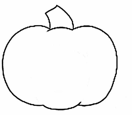 Kindergarten clipart outline banner library stock Pumpkin clipart for kindergarten - ClipartFest banner library stock