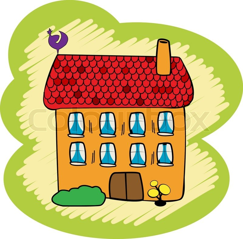 Kindergarten haus clipart freeuse library 1000+ images about Houses on Pinterest | Free clipart images ... freeuse library