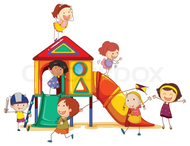 Kindergarten haus clipart freeuse library Plastik, hintergrund, haus | Vektorgrafik | Colourbox freeuse library