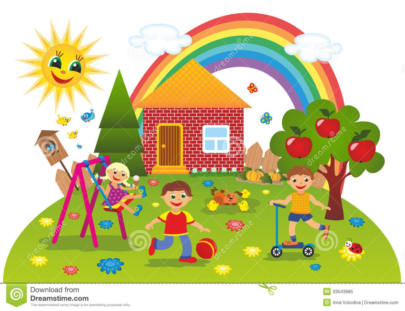 Kindergarten haus clipart free stock Kindergarten haus clipart - ClipartFest free stock