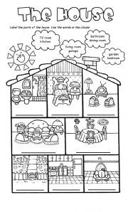 Kindergarten haus clipart picture transparent stock 17 Best images about House on Pinterest | Furniture, A house and ... picture transparent stock