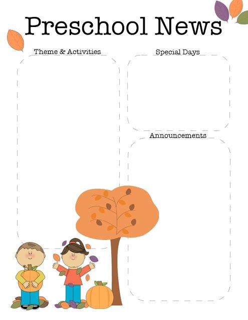 Kindergarten newsletter clipart svg transparent 17 Best ideas about Preschool Newsletter on Pinterest | Classroom ... svg transparent