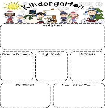 Kindergarten newsletter clipart free library 17 Best ideas about Kindergarten Newsletter on Pinterest ... free library