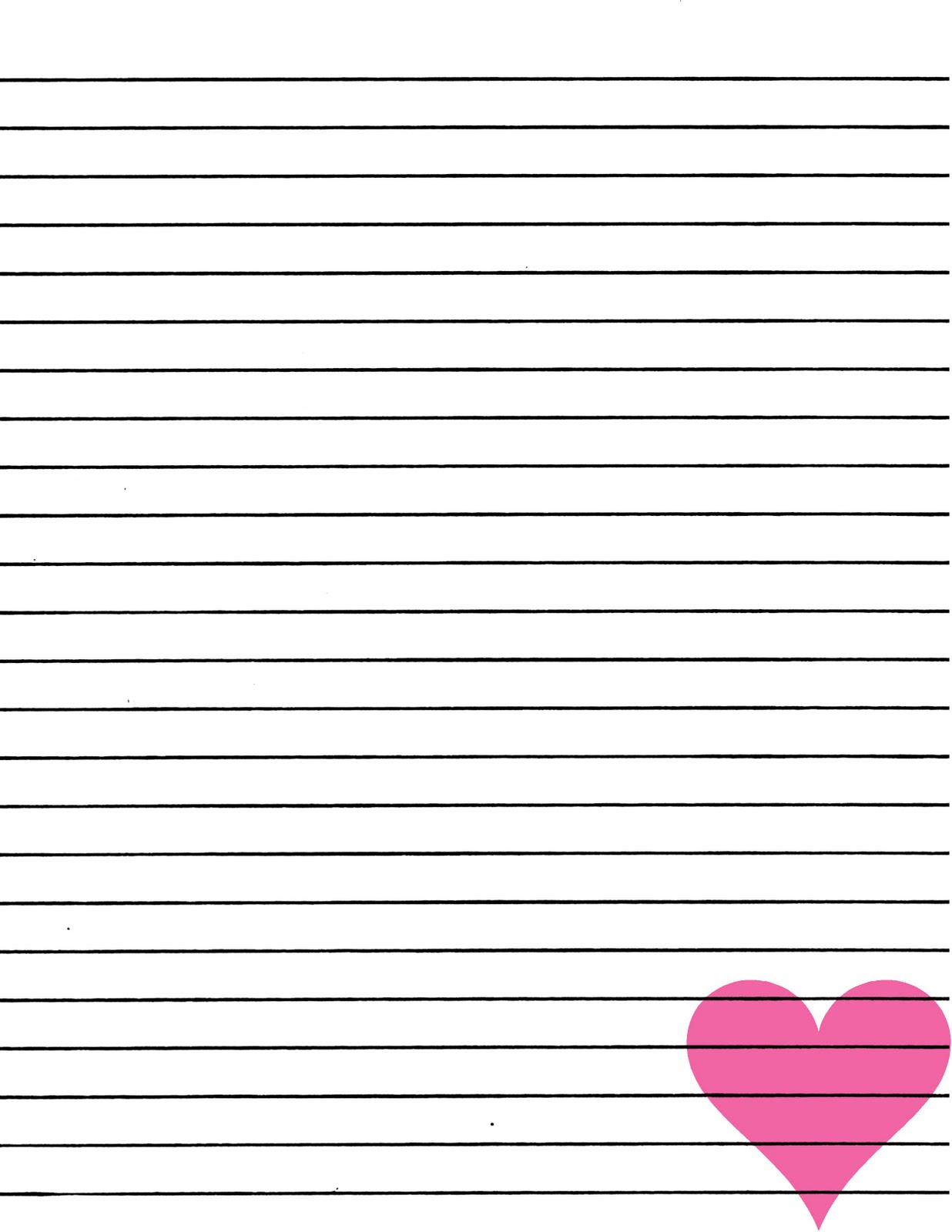 Kindergarten print line clipart image black and white download free printable writing practice paper one inch lines kindergarten ... image black and white download