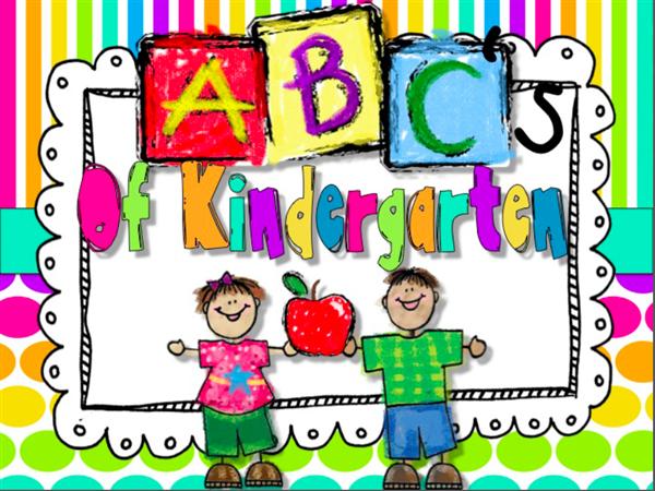 Kindergarten readiness clipart clipart freeuse download Kindergarten Readiness / The ABC's of Kindergarten clipart freeuse download