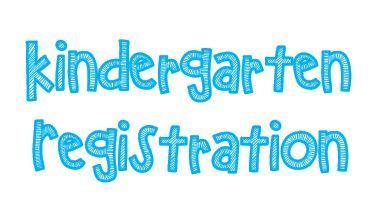 Kindergarten registration 2019-2020 clipart black and white Elementary Education / Kindergarten Registration 2019-2020 black and white