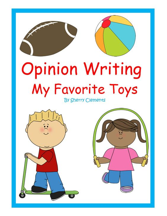 Kindergarten writing clipart png free stock Toys - Opinion Writing: Favorite Toys | Colors, Student and Clip art png free stock