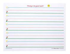 Kindergarten writing paper clipart transparent download Free Printable Kindergarten Writing Paper Clipart   For the Peeps ... transparent download