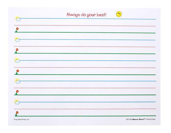 Kindergarten writing paper clipart clip art freeuse download Grade 1 pad paper clipart - ClipartFest clip art freeuse download