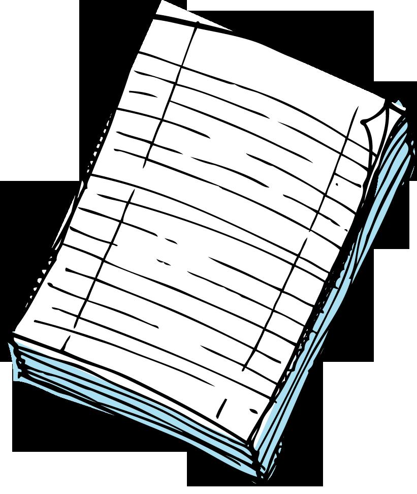 Kindergarten writing paper clipart vector free stock Clipart paper - ClipartFest vector free stock