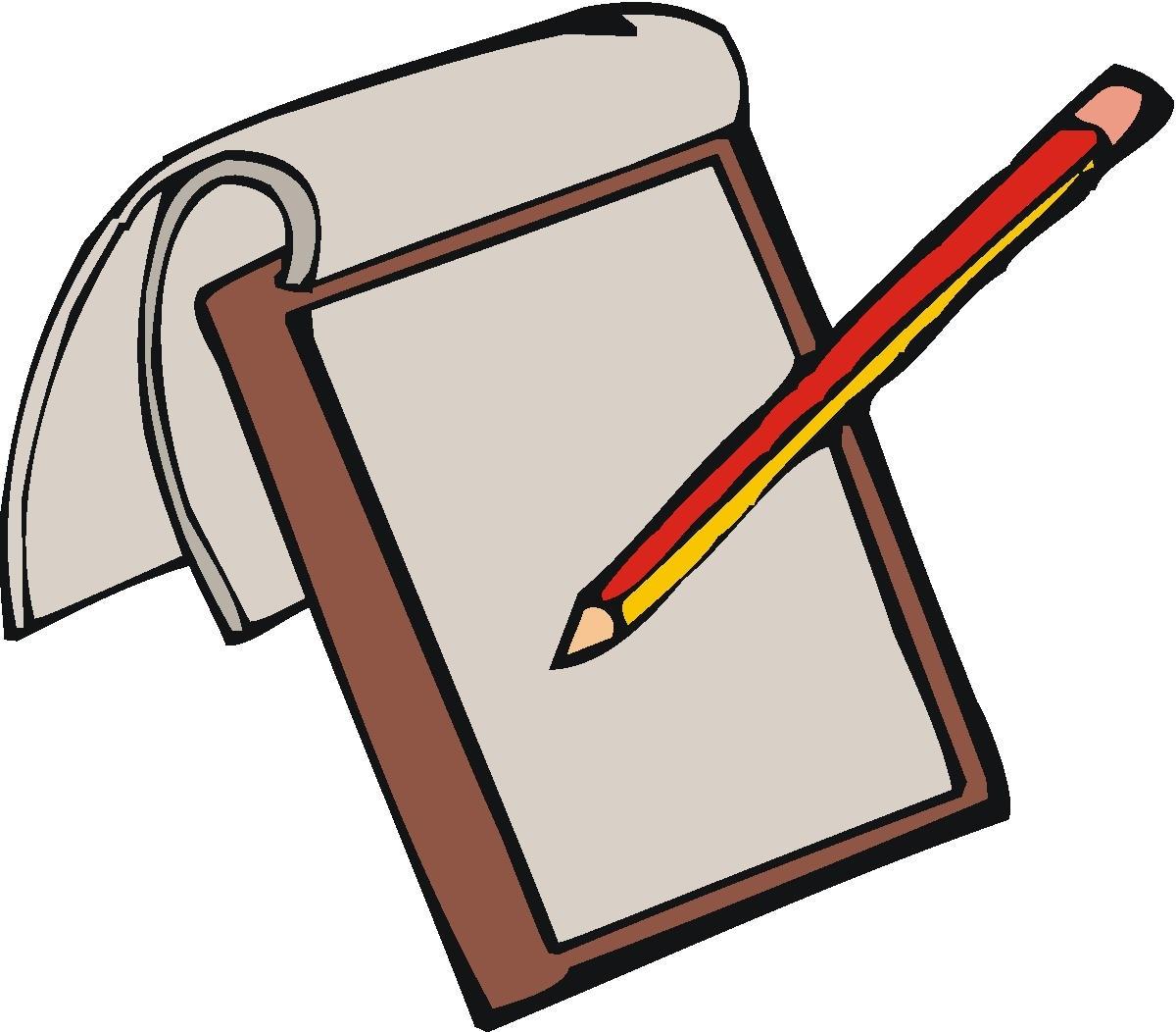 Kindergarten writing paper clipart clip free stock Kids writing paper clipart - ClipartFest clip free stock