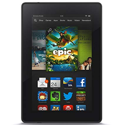 Kindle clipart image transparent Kindle Fire HD 7\