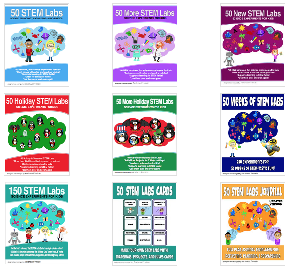 Kindle unlimited clipart image freeuse library 50 STEM LABS - 50 STEM Labs image freeuse library