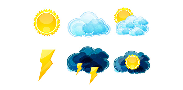 Kinds of weather in the philippines clipart freeuse stock Weather, Elements Of Weather And Weather Instruments - ProProfs Quiz freeuse stock