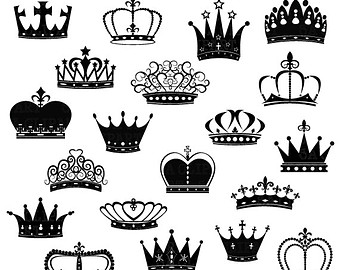 King and queen crown clip art vector library stock King and queen crown clip art - ClipartFest vector library stock