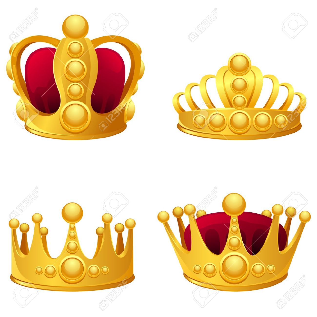 King and queen crown clip art banner freeuse King and queen crowns clipart - ClipartFest banner freeuse