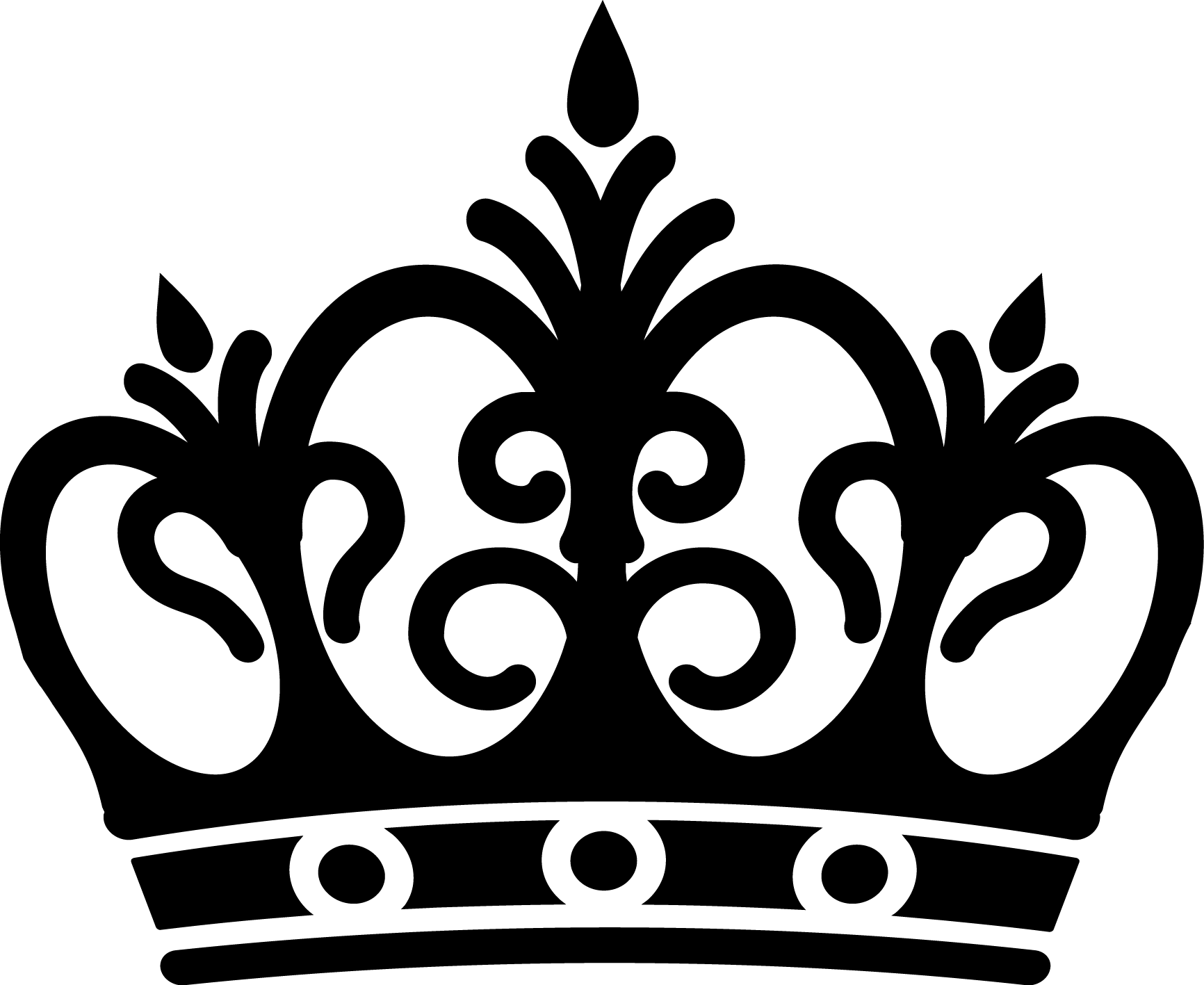 Crown clipart elegant graphic black and white download Crown Drawing Images at GetDrawings.com | Free for personal use ... graphic black and white download