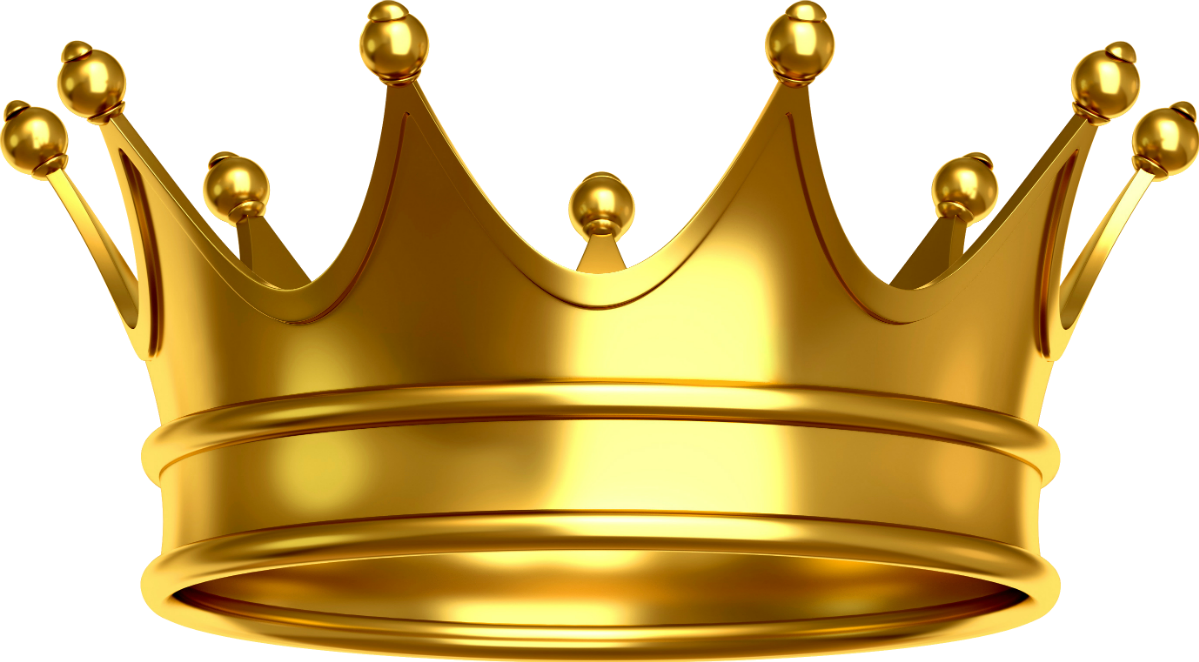 King and queen crown clipart clip art freeuse stock gold royalty crown majesty king queen goldcrown... clip art freeuse stock