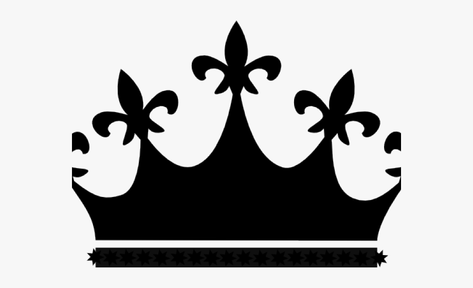 King and queen crowns clipart image black and white Queen Clipart Crown King - Black Queen Crown Png #1310112 - Free ... image black and white