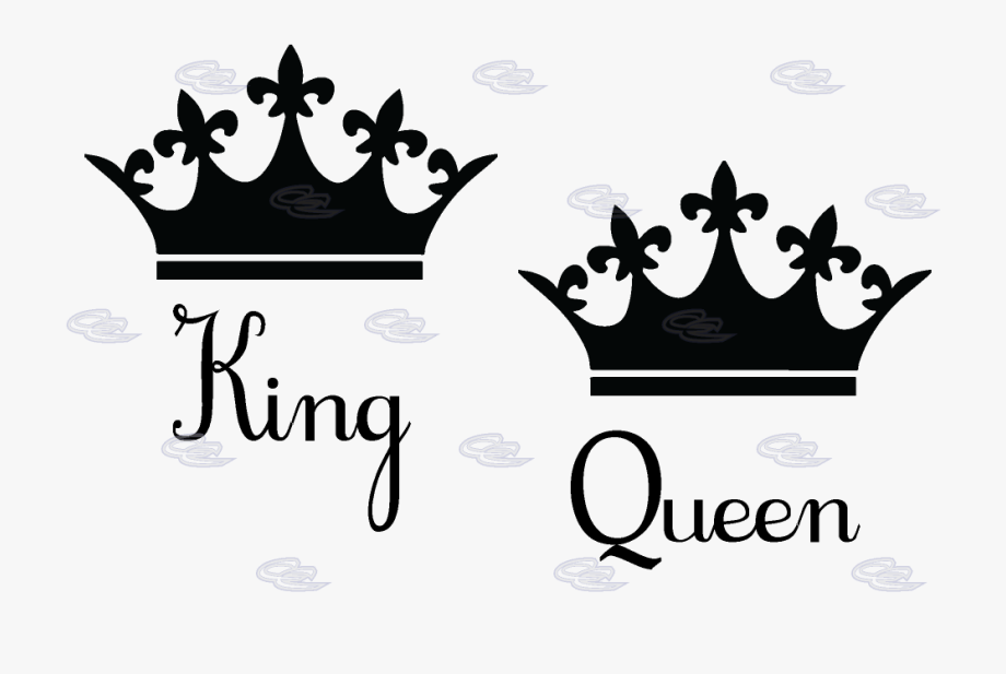 King and queen crowns clipart png library download Queen Crown Silhouette At Getdrawings - Queen & King Crowns #1954 ... png library download