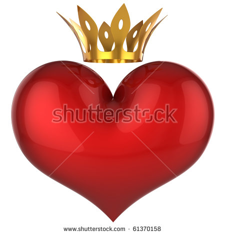 King and queen of hearts clipart vector free library Queen Of Hearts Stock Images, Royalty-Free Images & Vectors ... vector free library