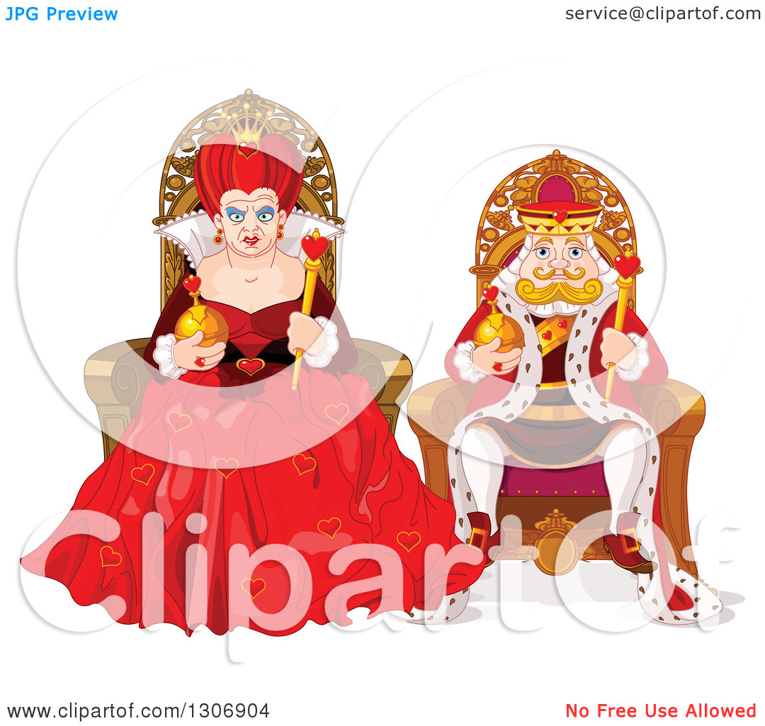 King and queen of hearts clipart banner transparent stock King and queen of hearts clipart - ClipartFest banner transparent stock