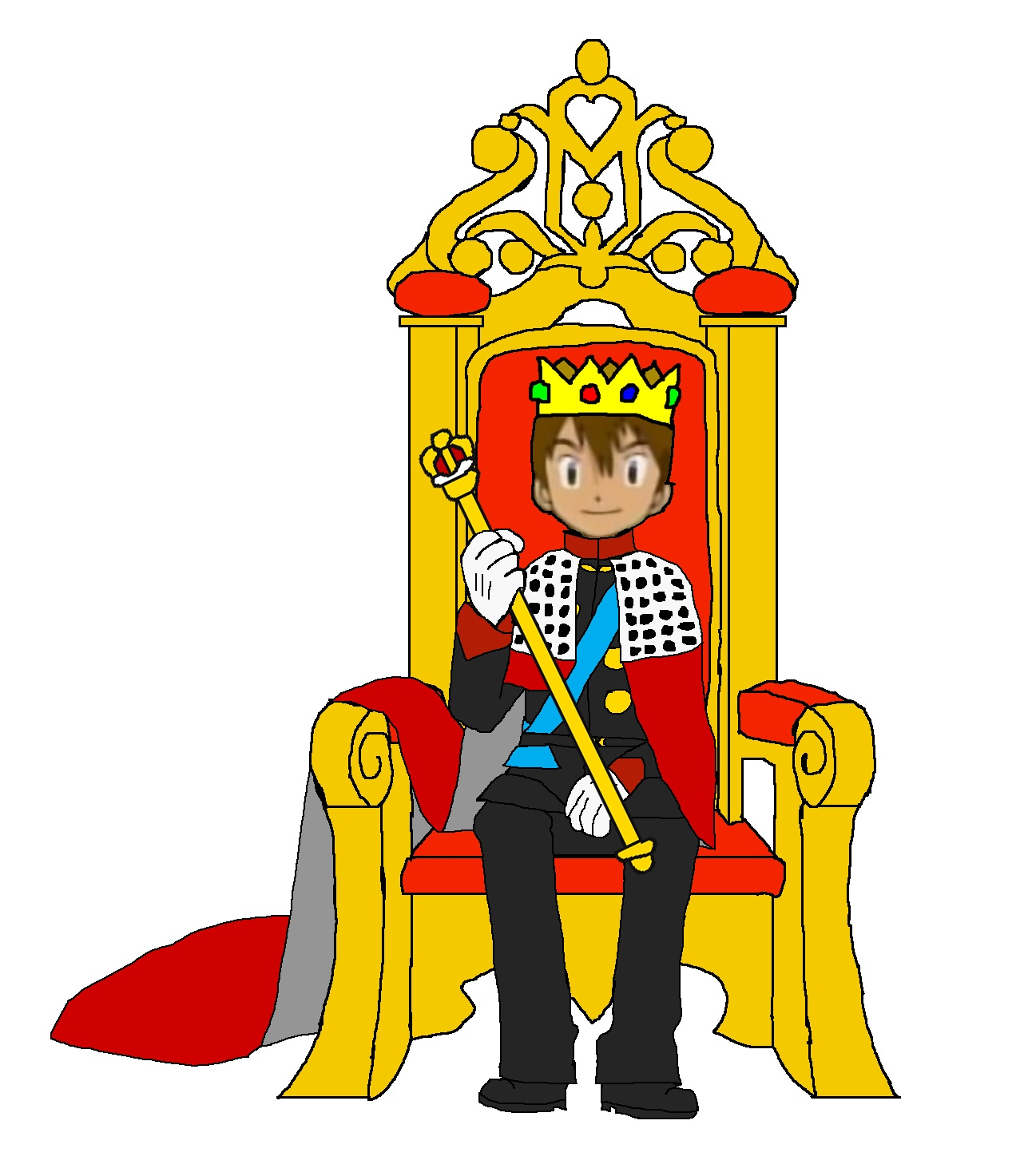 King clipart png banner freeuse King Sitting in Throne Clip Art – Clipart Free Download banner freeuse