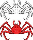 King crab clipart clipart royalty free King Crab Clip Art - Royalty Free - GoGraph clipart royalty free