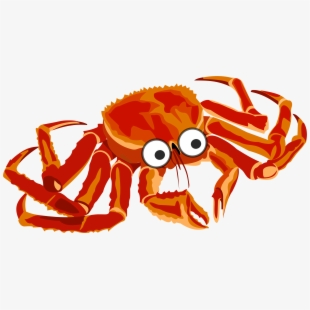 King crab clipart clip black and white Crab Clipart Pink Crab - Red King Crab Drawing #357885 - Free ... clip black and white