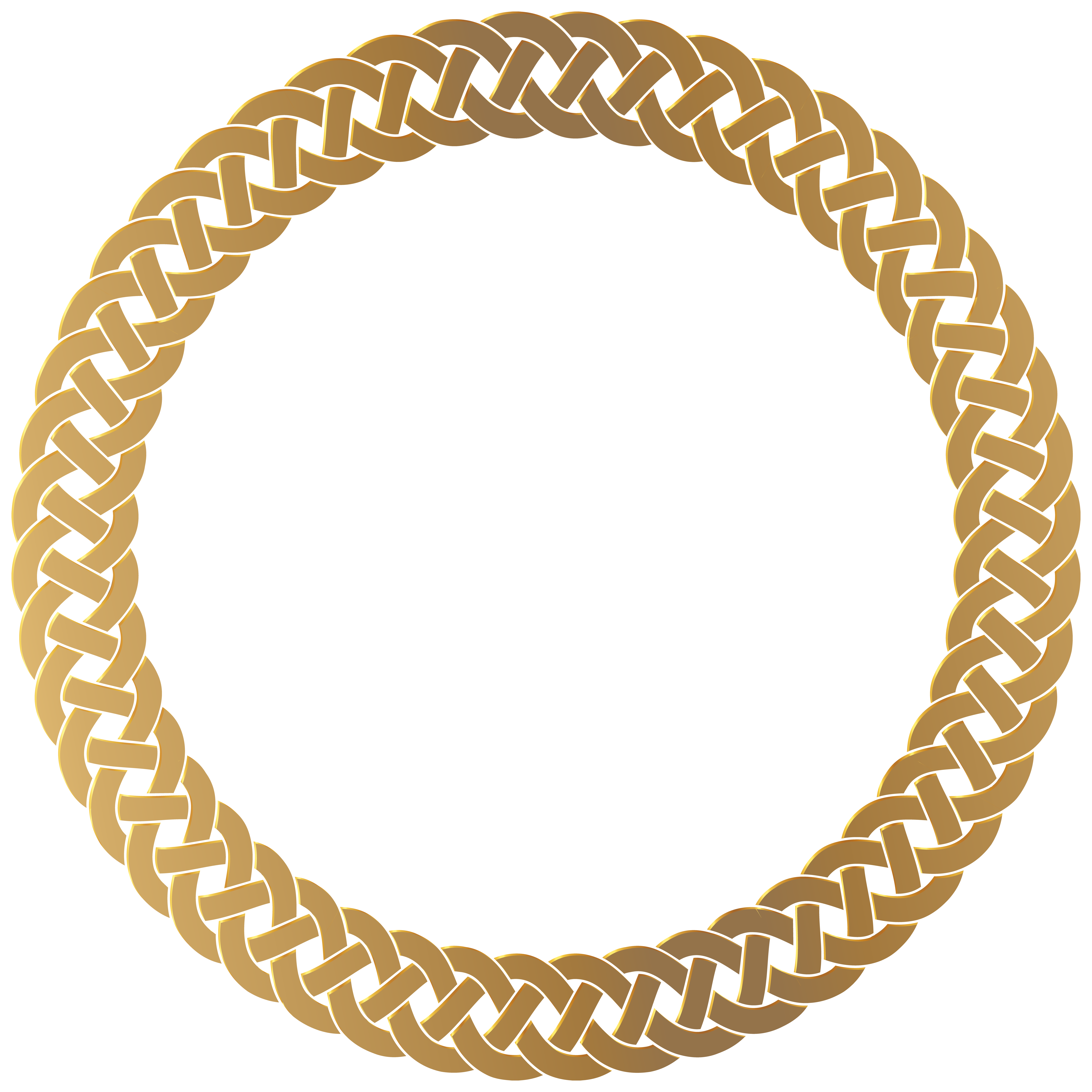 King crown circle border clipart image library Golden Round Frame Border Transparent PNG Clip Art | Gallery ... image library