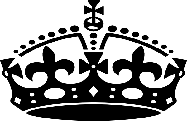 King crown clip art black and white free Crown clipart black and white free - ClipartFest free