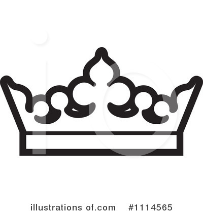 King crown clip art black and white vector library download Queen Crown Black And White Clipart - Clipart Kid vector library download